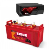 EXIDE MAGIC 825VA HOME UPS + Exide INSTA BRIGHT1500 (150Ah)